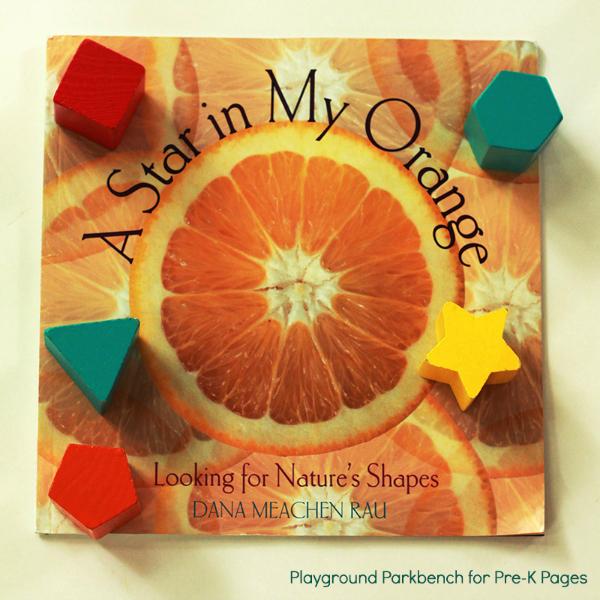 Star in My Orange Nature Shapes Scavenger Hunt
