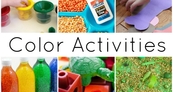 30+ Color Activities For Preschoolers