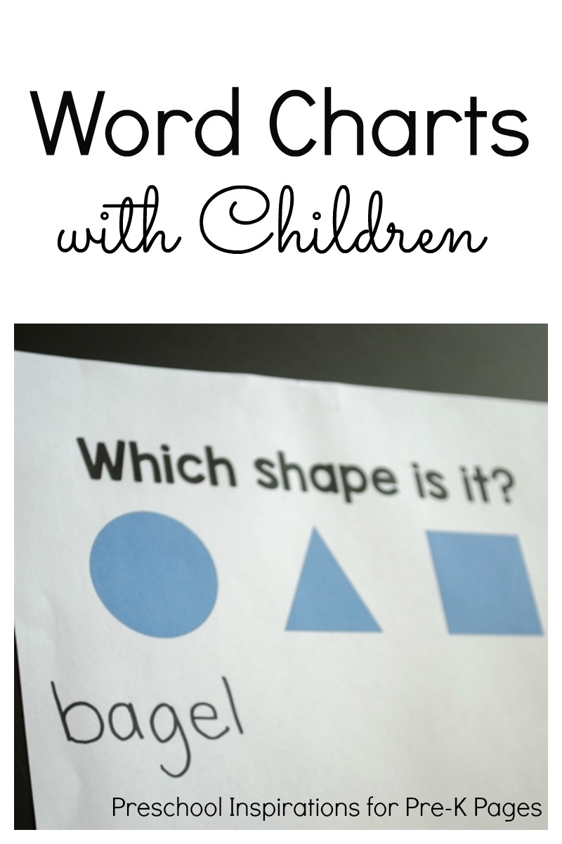 Word Charts with Children