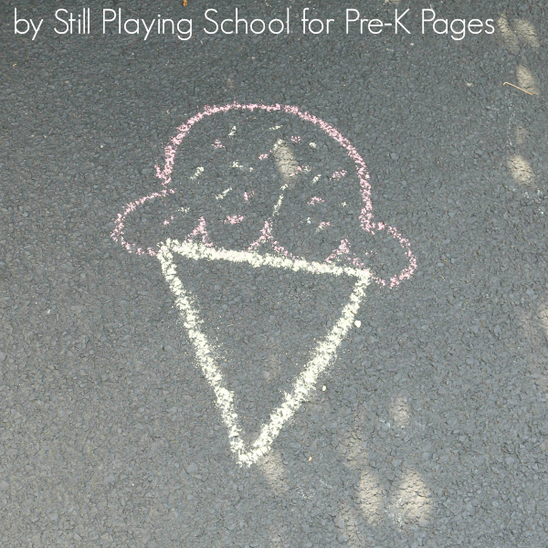 create shape pictures for prek