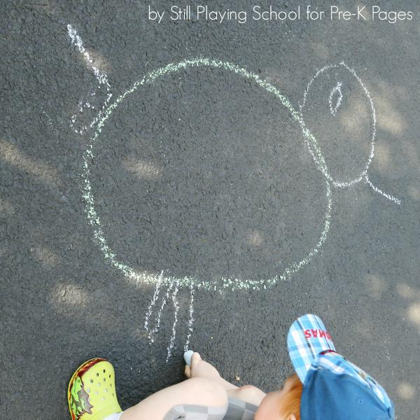 drawing shapes preschool