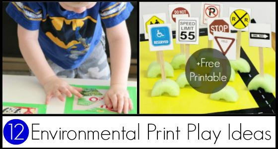 Ideas for Using Environmental Print