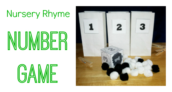 Nursery Rhyme Number Game