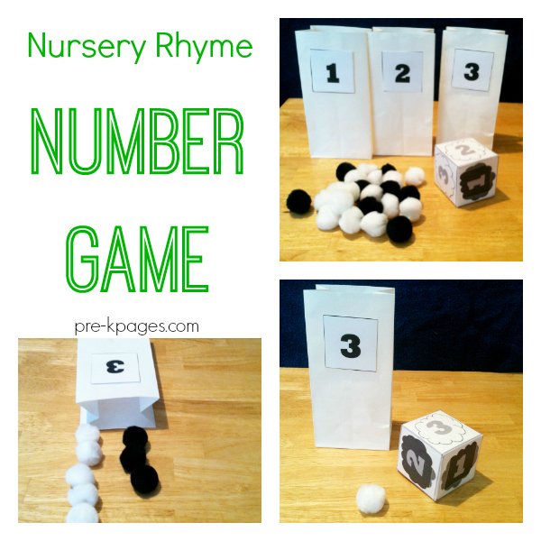 number game for preschool