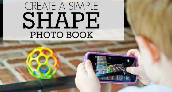Create a Shapes Photo Book