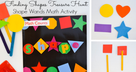 Shape Wands Math Activity