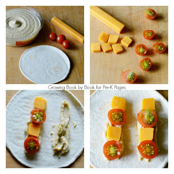 make a tortilla shape snack