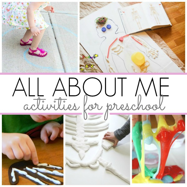 Art Ideas Ourselves Topic: Activities For All About Me Theme