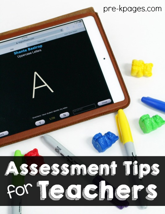 Assessment Tips for Preschool and Kindergarten Teachers