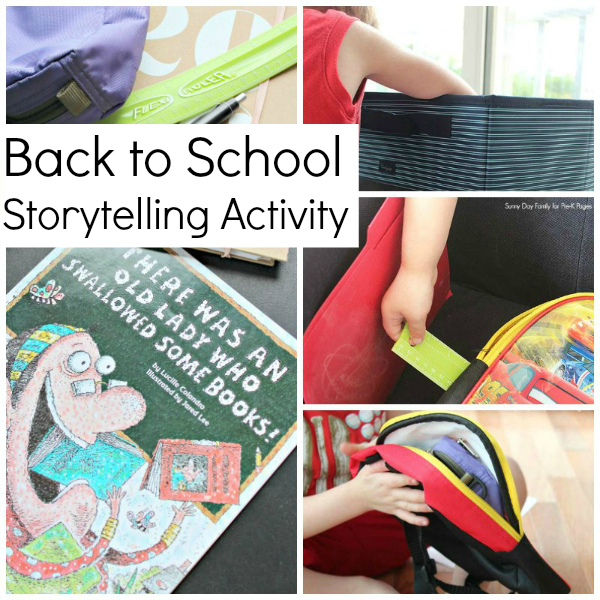 Back to School Storytelling Box for prechool