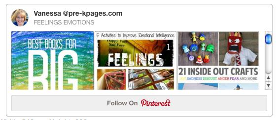 Emotions and Feelings Pinterest Board