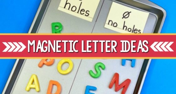 How to Use Magnetic Letters in Preschool