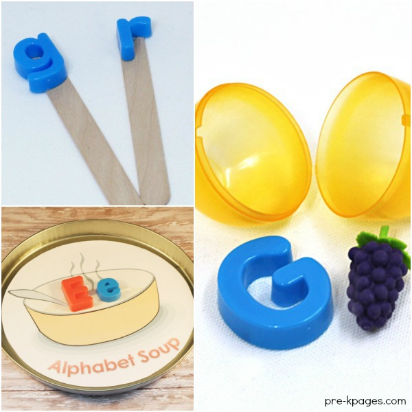 Learning Activities for Magnetic Letters