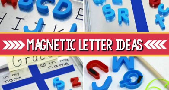 Magnetic Letter Ideas