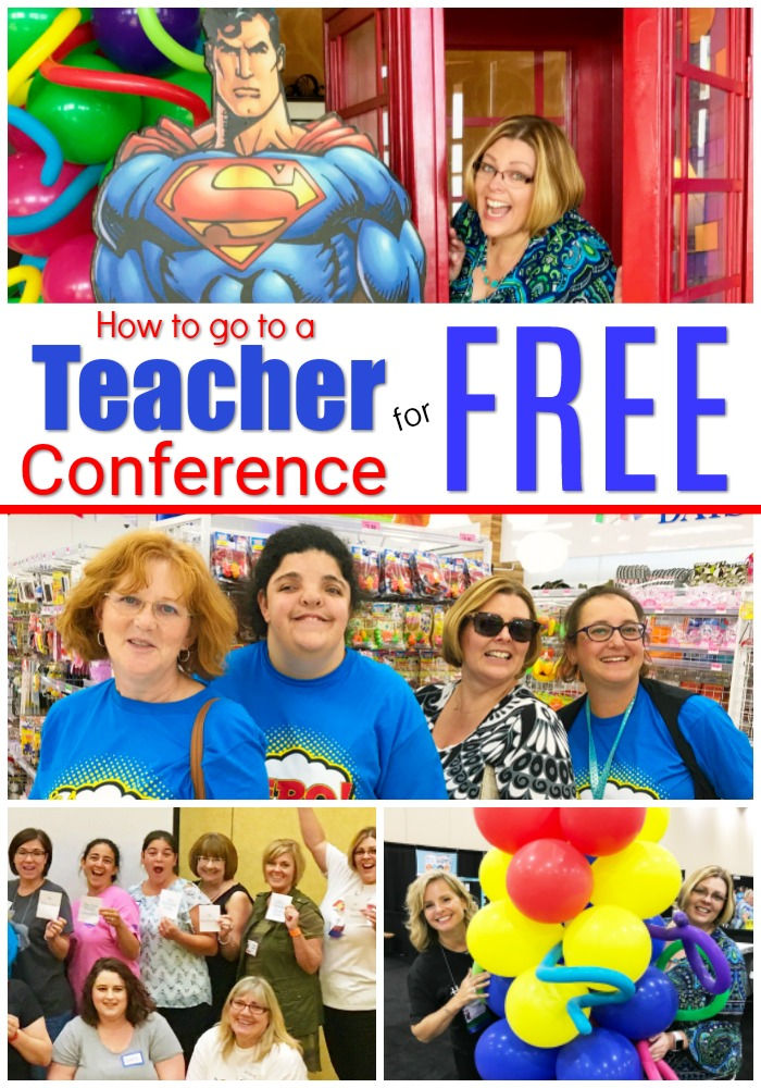 Get your principal to pay for you to go to a teacher conference