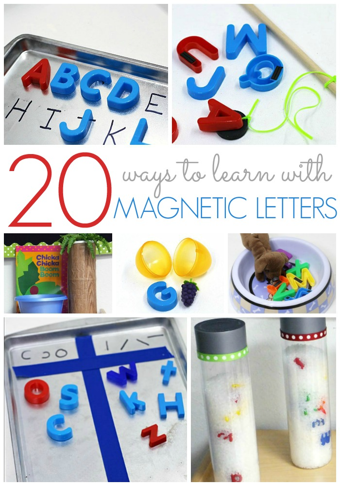 Teaching with Magnetic Letters in Preschool