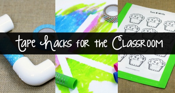 Tape Hacks for the Classroom