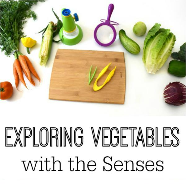 exploring vegetables for preschool
