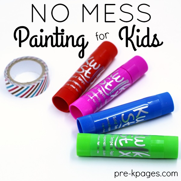 No Mess Painting for Kids!