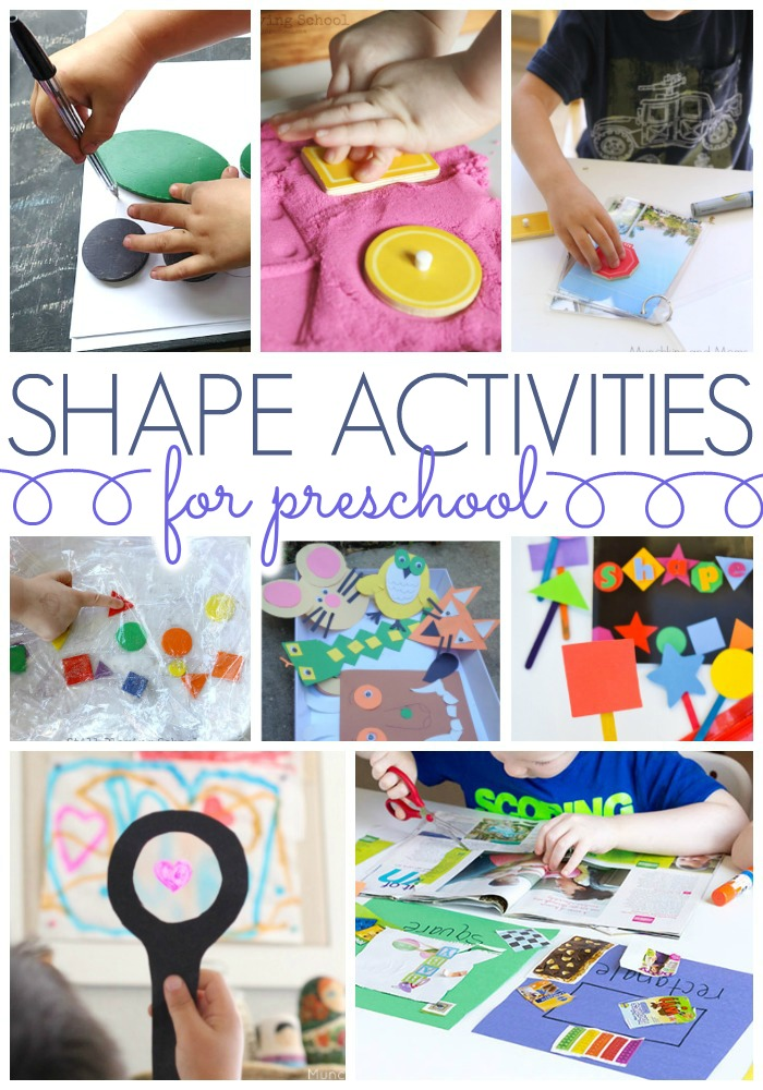 Learning Activities for Shapes in Preschool