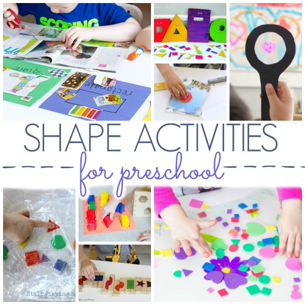 Shape Learning Activities for Preschoolers