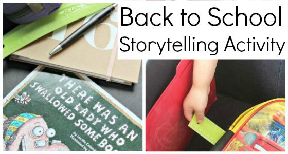 Back to School Storytelling Box