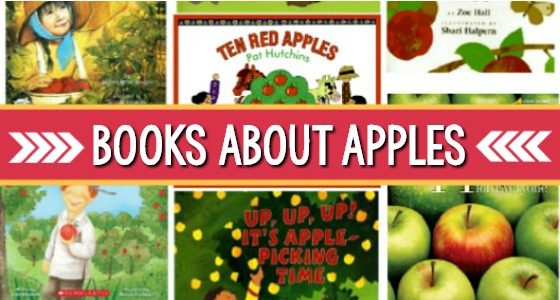 Books About Apples for Preschool