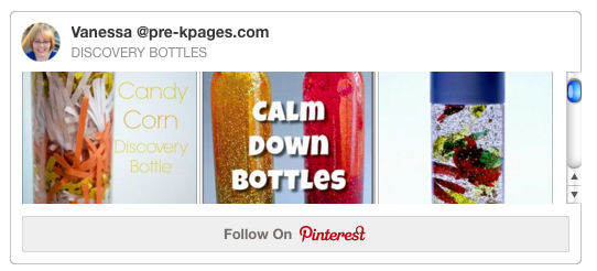 Discovery Bottles Pinterest Board