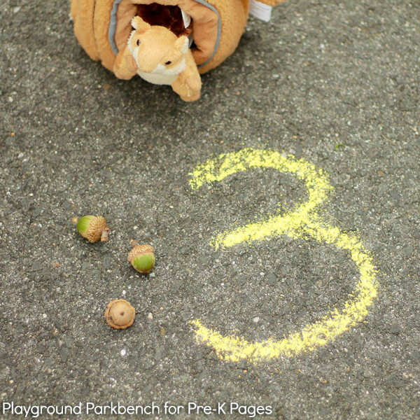 feed the squirrel math game