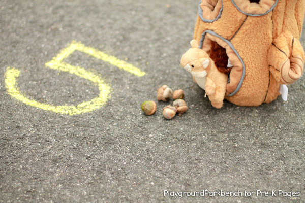 squirrel fall counting game
