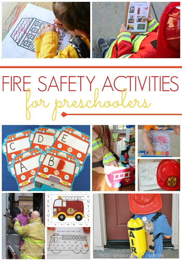 Preschool activities for a fire safety theme pre k pages fire safety activities for preschool ibookread Download