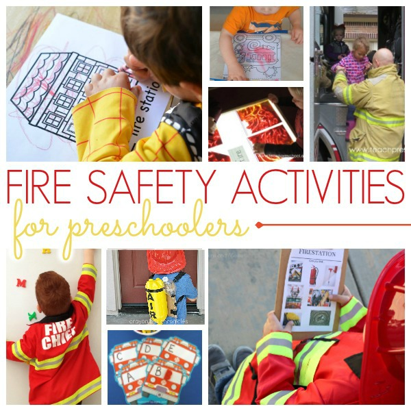 Fire Safety Activities for Preschoolers