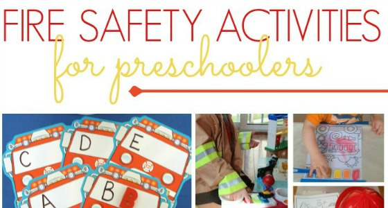 Fire Safety Week Activities for Kids
