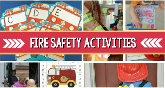 Preschool Activities for a Fire Safety Theme
