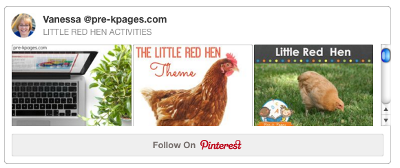 Little Red Hen Pinterest