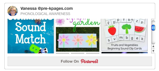 Phonological Awareness Pinterest Board