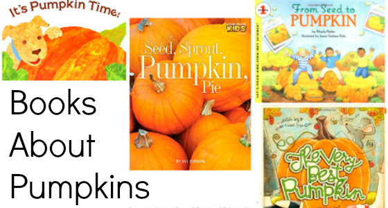 Books About Pumpkins for Preschoolers