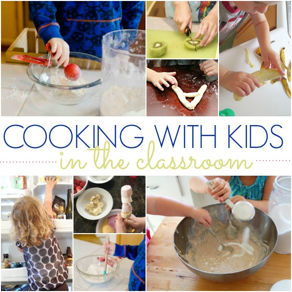 cooking in classroom prek