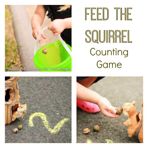feed the squirrel fall counting game