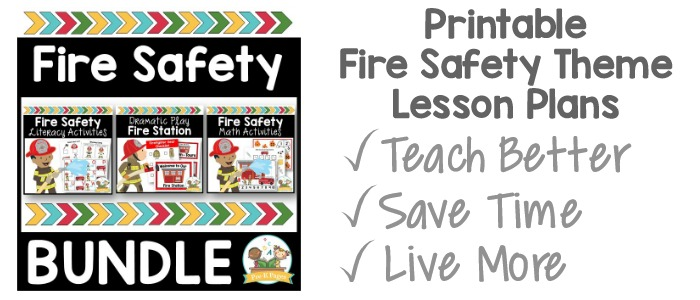 Fire Safety Theme Bundle