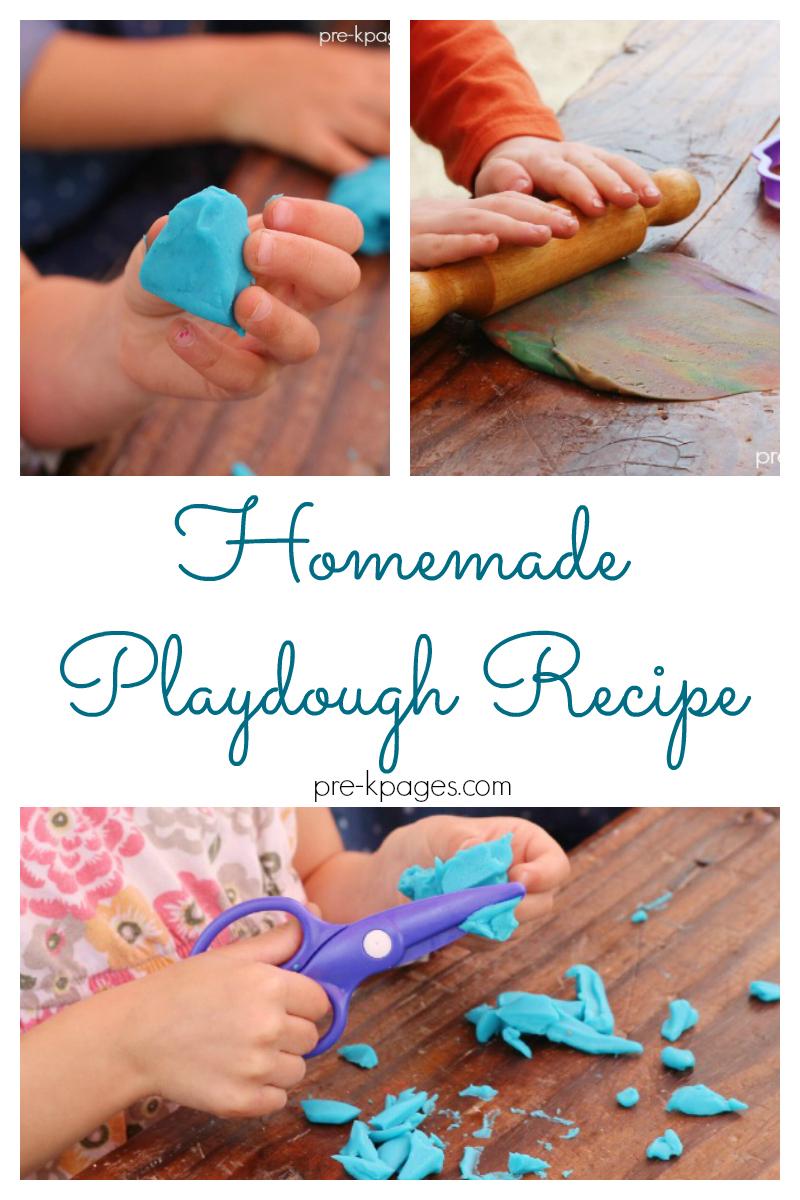 homemade playdough recipe for preschool