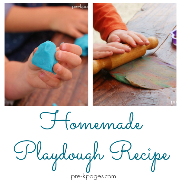homemade playdough recipe prek