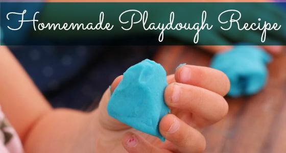 Easy DIY Homemade Playdough Recipe