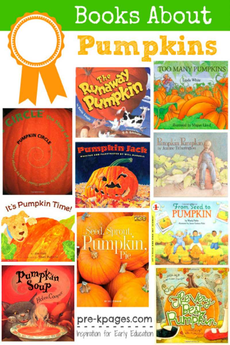 preschool books about pumpkins