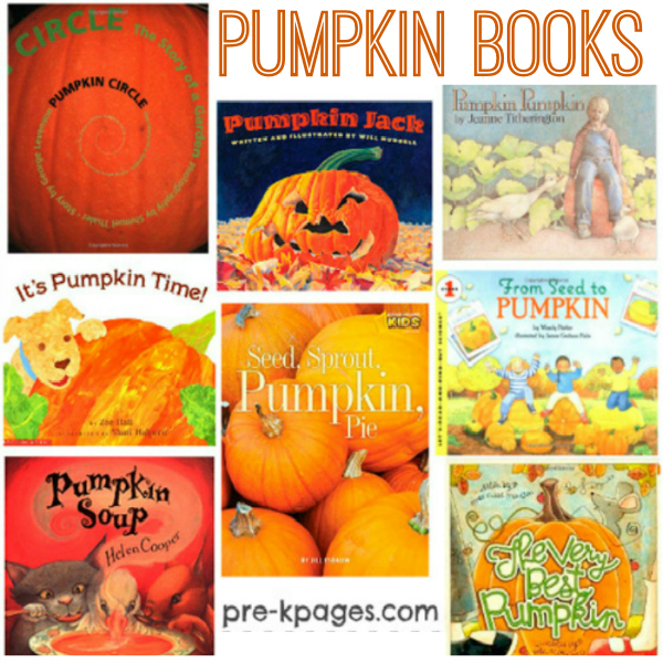 pumpkin books prek