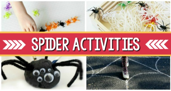 Spider Preschool Activities