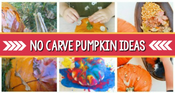25 No Carve Preschool Pumpkin Decorating Ideas