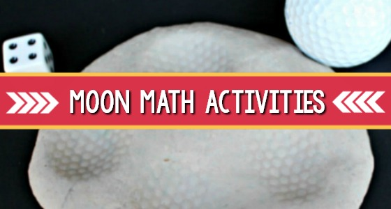Moon Math Activities for Preschoolers