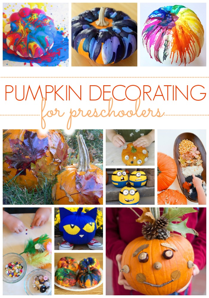 25 No Carve Preschool Pumpkin Decorating Ideas , Pre,K Pages