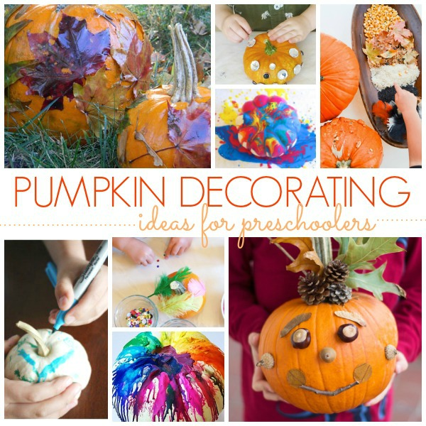 Pumpkin Decorating Ideas for Preschool